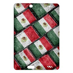 Mexican Flag Pattern Design Amazon Kindle Fire Hd (2013) Hardshell Case