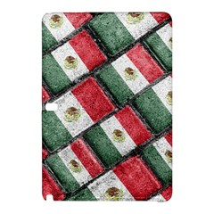 Mexican Flag Pattern Design Samsung Galaxy Tab Pro 12 2 Hardshell Case