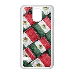 Mexican Flag Pattern Design Samsung Galaxy S5 Case (white)