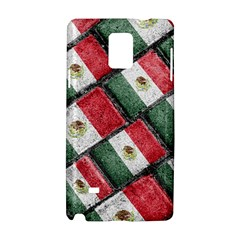 Mexican Flag Pattern Design Samsung Galaxy Note 4 Hardshell Case
