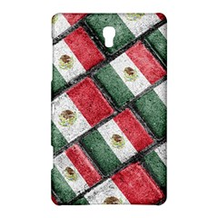Mexican Flag Pattern Design Samsung Galaxy Tab S (8 4 ) Hardshell Case