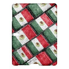 Mexican Flag Pattern Design Samsung Galaxy Tab S (10 5 ) Hardshell Case