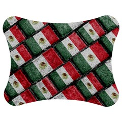 Mexican Flag Pattern Design Jigsaw Puzzle Photo Stand (bow)