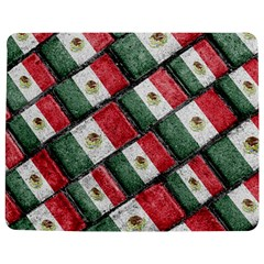 Mexican Flag Pattern Design Jigsaw Puzzle Photo Stand (rectangular)