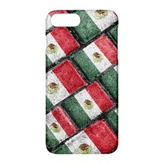 Mexican Flag Pattern Design Apple Iphone 7 Plus Hardshell Case