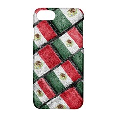 Mexican Flag Pattern Design Apple Iphone 7 Hardshell Case