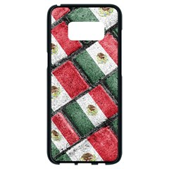 Mexican Flag Pattern Design Samsung Galaxy S8 Black Seamless Case