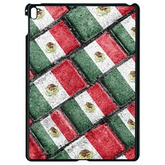 Mexican Flag Pattern Design Apple Ipad Pro 9 7   Black Seamless Case