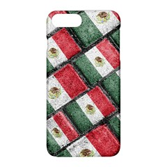 Mexican Flag Pattern Design Apple Iphone 8 Plus Hardshell Case