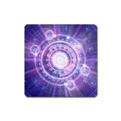 Blue Fractal Alchemy Hud For Bending Hyperspace Square Magnet