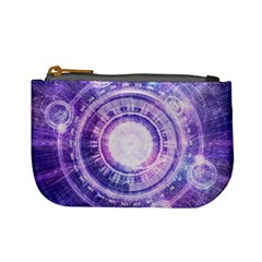 Blue Fractal Alchemy Hud For Bending Hyperspace Mini Coin Purses