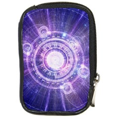 Blue Fractal Alchemy Hud For Bending Hyperspace Compact Camera Cases