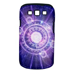 Blue Fractal Alchemy Hud For Bending Hyperspace Samsung Galaxy S Iii Classic Hardshell Case (pc+silicone)