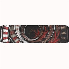 The Thousand And One Rings Of The Fractal Circus Large Bar Mats