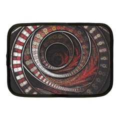 The Thousand And One Rings Of The Fractal Circus Netbook Case (medium)