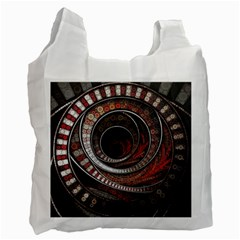 The Thousand And One Rings Of The Fractal Circus Recycle Bag (one Side)