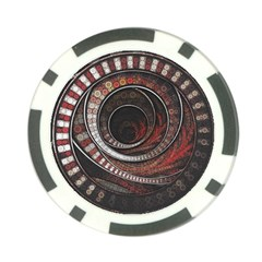 The Thousand And One Rings Of The Fractal Circus Poker Chip Card Guard (10 Pack)