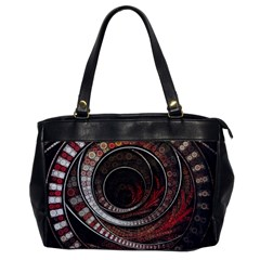 The Thousand And One Rings Of The Fractal Circus Office Handbags