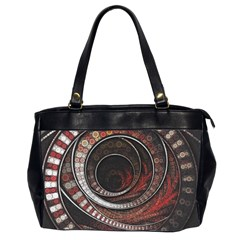 The Thousand And One Rings Of The Fractal Circus Office Handbags (2 Sides)