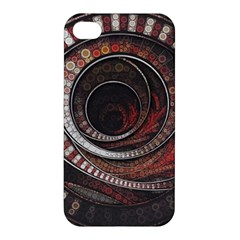 The Thousand And One Rings Of The Fractal Circus Apple Iphone 4/4s Hardshell Case