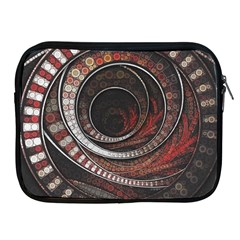 The Thousand And One Rings Of The Fractal Circus Apple Ipad 2/3/4 Zipper Cases