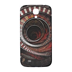 The Thousand And One Rings Of The Fractal Circus Samsung Galaxy S4 I9500/i9505  Hardshell Back Case