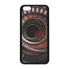 The Thousand And One Rings Of The Fractal Circus Apple Iphone 5c Seamless Case (black)