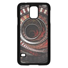 The Thousand And One Rings Of The Fractal Circus Samsung Galaxy S5 Case (black)