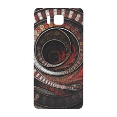 The Thousand And One Rings Of The Fractal Circus Samsung Galaxy Alpha Hardshell Back Case