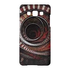 The Thousand And One Rings Of The Fractal Circus Samsung Galaxy A5 Hardshell Case