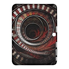 The Thousand And One Rings Of The Fractal Circus Samsung Galaxy Tab 4 (10 1 ) Hardshell Case