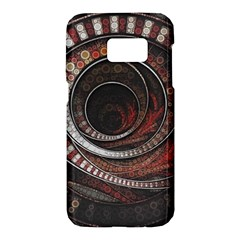 The Thousand And One Rings Of The Fractal Circus Samsung Galaxy S7 Hardshell Case