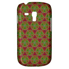 Red Green Flower Of Life Drawing Pattern Galaxy S3 Mini