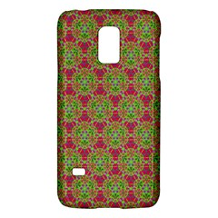 Red Green Flower Of Life Drawing Pattern Galaxy S5 Mini