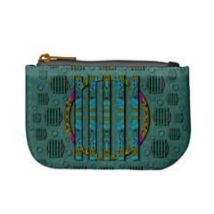 Freedom Is Every Where Just Love It Pop Art Mini Coin Purses