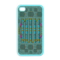 Freedom Is Every Where Just Love It Pop Art Apple Iphone 4 Case (color)