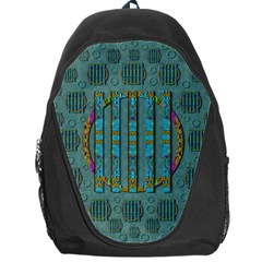 Freedom Is Every Where Just Love It Pop Art Backpack Bag