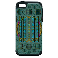 Freedom Is Every Where Just Love It Pop Art Apple Iphone 5 Hardshell Case (pc+silicone)