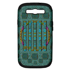 Freedom Is Every Where Just Love It Pop Art Samsung Galaxy S Iii Hardshell Case (pc+silicone)