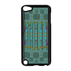 Freedom Is Every Where Just Love It Pop Art Apple Ipod Touch 5 Case (black)