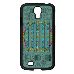 Freedom Is Every Where Just Love It Pop Art Samsung Galaxy S4 I9500/ I9505 Case (black)