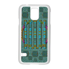 Freedom Is Every Where Just Love It Pop Art Samsung Galaxy S5 Case (white)
