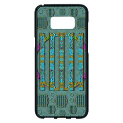 Freedom Is Every Where Just Love It Pop Art Samsung Galaxy S8 Plus Black Seamless Case