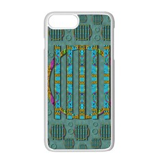 Freedom Is Every Where Just Love It Pop Art Apple Iphone 8 Plus Seamless Case (white)