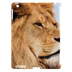 Big Lion Looking Far Away Apple Ipad 3/4 Hardshell Case (compatible With Smart Cover)