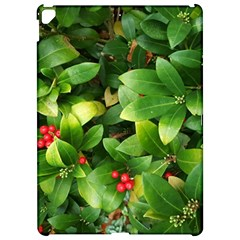 Christmas Season Floral Green Red Skimmia Flower Apple Ipad Pro 12 9   Hardshell Case