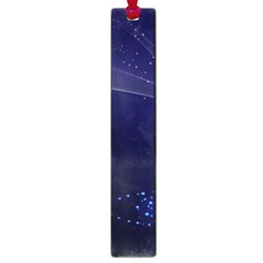 Christmas Tree Blue Stars Starry Night Lights Festive Elegant Large Book Marks