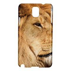 Big Male Lion Looking Right Samsung Galaxy Note 3 N9005 Hardshell Case