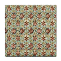 Hexagon Tile Pattern 2 Tile Coasters