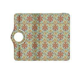 Hexagon Tile Pattern 2 Kindle Fire Hdx 8 9  Flip 360 Case